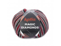 Fil Magic Diamonds Katia - 50% laine 42% acrylique 8% polyamide