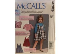 Patron boléro et robes pour enfant McCall's M7828