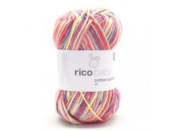 Fil Rico Baby Cotton Soft Print - 50% Coton - 50% Acrylique