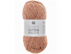 Fashion Cotton Métallisé - 53% coton 35% acrylique 12% lurex - Rico