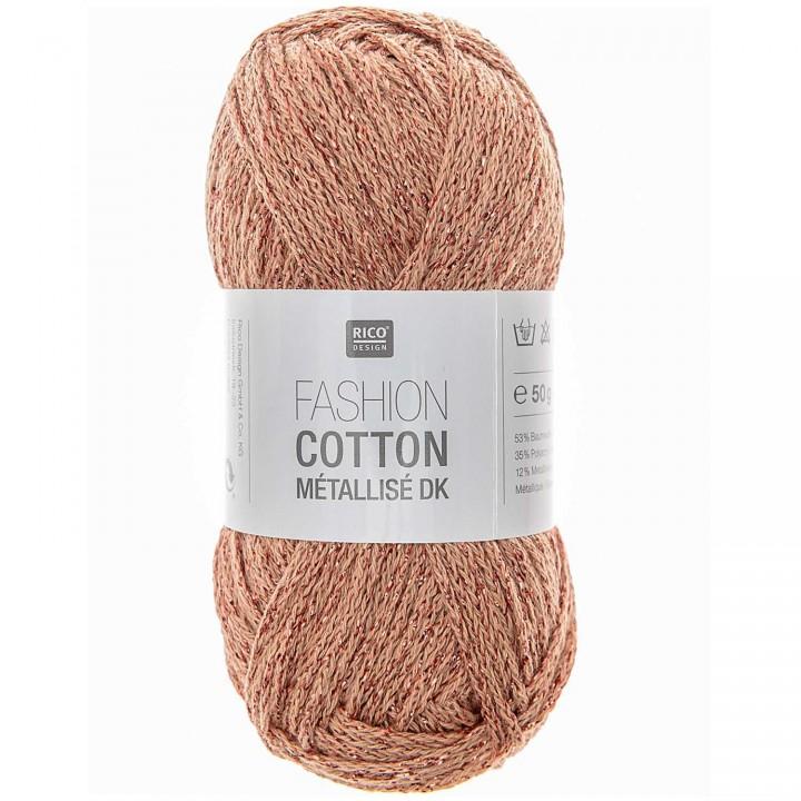 Fashion Cotton Métallisé - 53% coton 35% acrylique 12% lurex - Rico