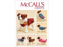 Patron manteau pour chien  McCall's 7881