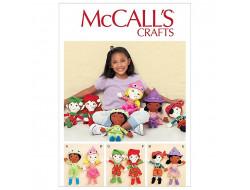 Patron poupée tissus  McCall's 7882