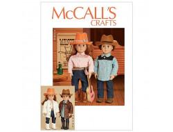 Patron vêtement poupée  McCall's 7883