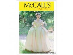 Patron robe à corsage  McCall's 7885