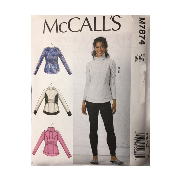 Patron hauts et collants femme McCall's M7874