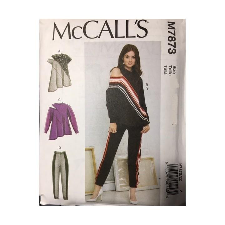 Patron hauts et pantalon femme McCall's M7873
