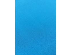 Tissu coton Bleu turquoise