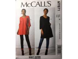 Patron tunique femme McCall's M7871