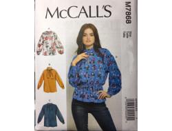 Patron hauts femme McCall's M7868