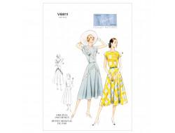 Patron de robe vintage - Vogue 8811