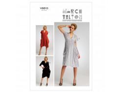 Patron de robe - Vogue 8813