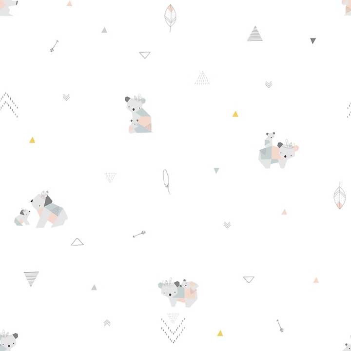 Tissu popeline de coton Littler Koalas - Katia Fabrics