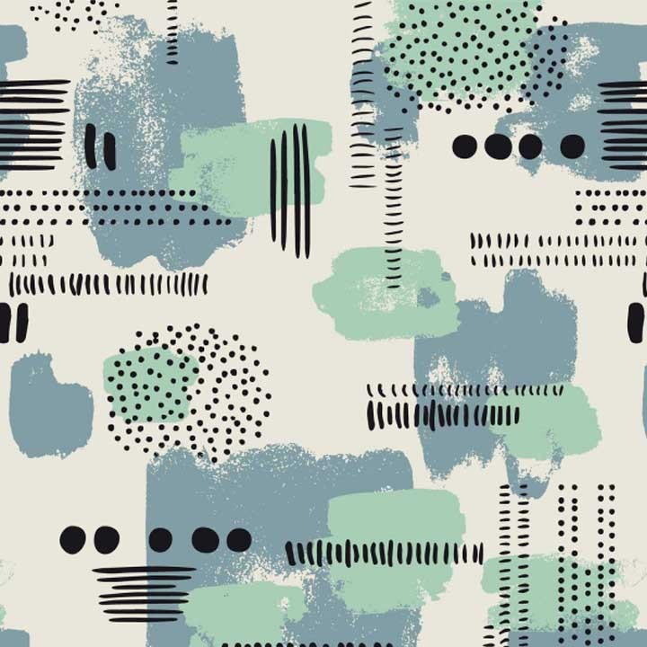 Tissu Canvas Brush Stroke - Katia Fabrics