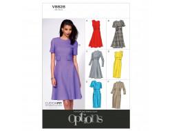 Patron de robe - Vogue 8828