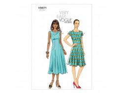 Patron de robe - Vogue 8871