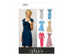 Patron de robe - Vogue 8873