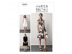 Patron de robe - Vogue 8876