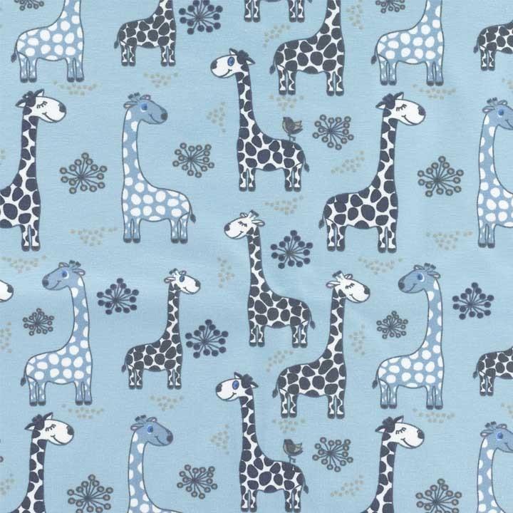 Tissu jersey Stenzo - Girafe