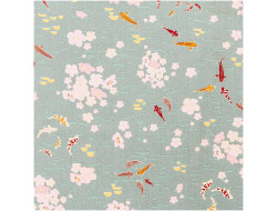 Tissu japonnais Carpes