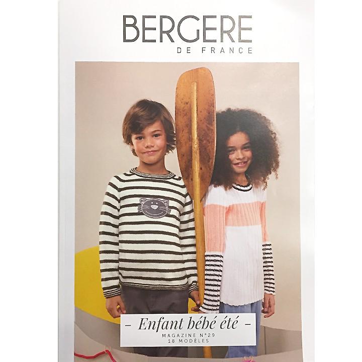 """Magazine n°29 """"Enfant Bébé Été"""" - Bergère de France"""