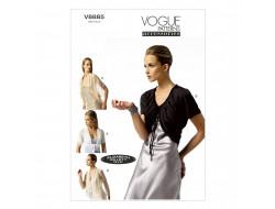 Patron de veste - Vogue 8885