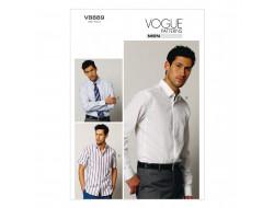 Patron de chemise - Vogue 8889