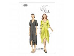 Patron de robe - Vogue 8894