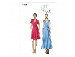 Patron de robe - Vogue 8896