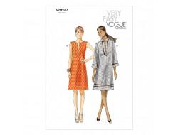 Patron de robe - Vogue 8897