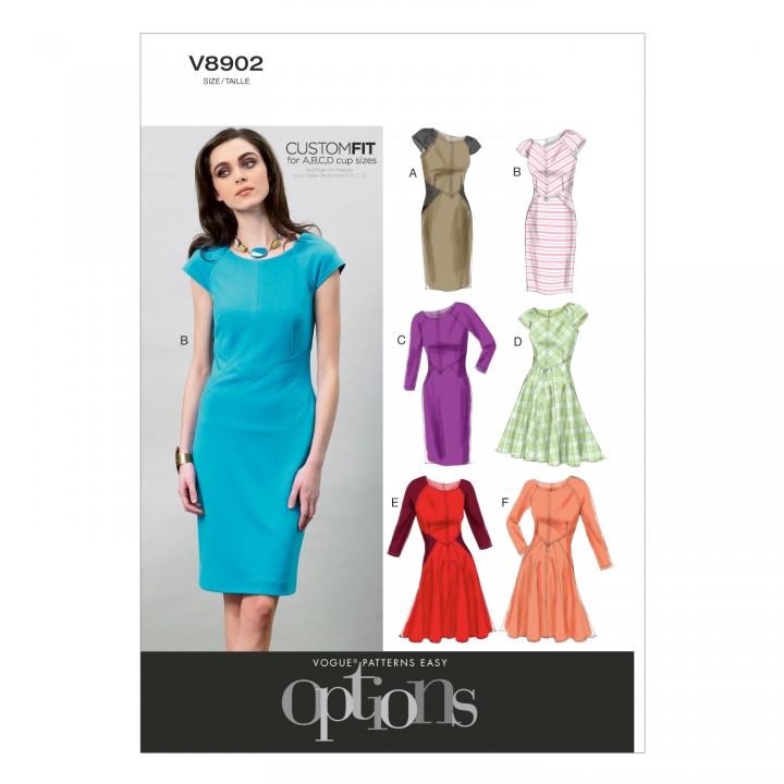 Patron de robe - Vogue 8802