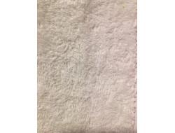 Tissu éponge coton douceur blanc