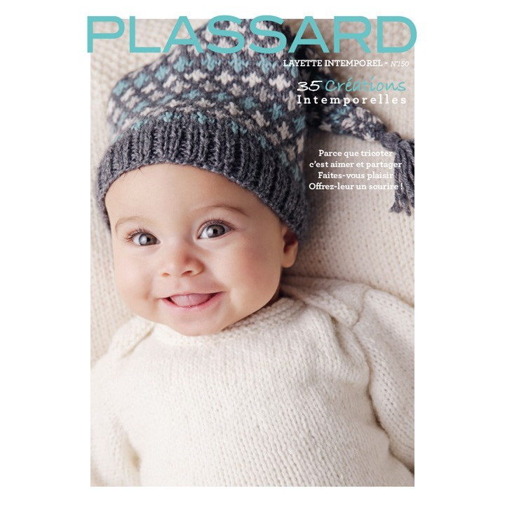 Magazine tricot N°150 Layette intemporel - Laines Plassard