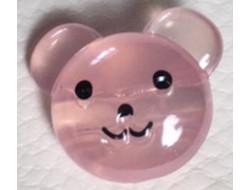 Bouton tête d'ourson