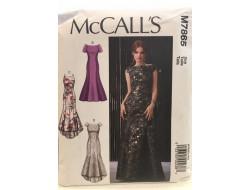 Patron robe pour femme McCall's M7865