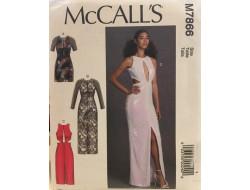 Patron robe pour femme McCall's M7866