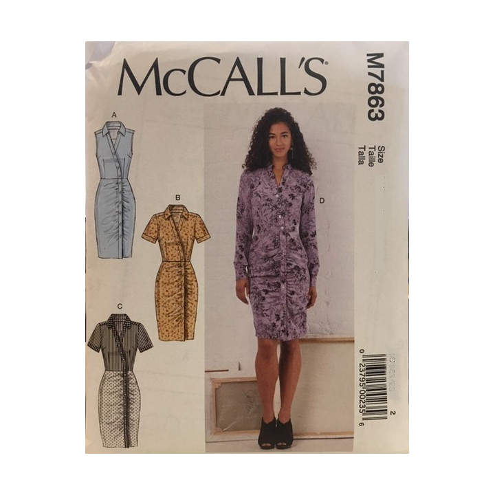 Patron robe pour femme McCall's M7863