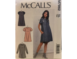 Patron robe pour femme McCall's M7862