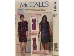 Patron robe femme McCall's M7861