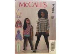 Patron hauts et collants pour enfant McCall's M7859