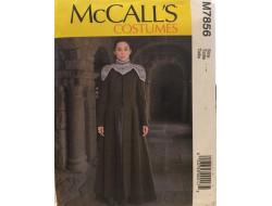 Patron  déguisement femme McCall's M7856