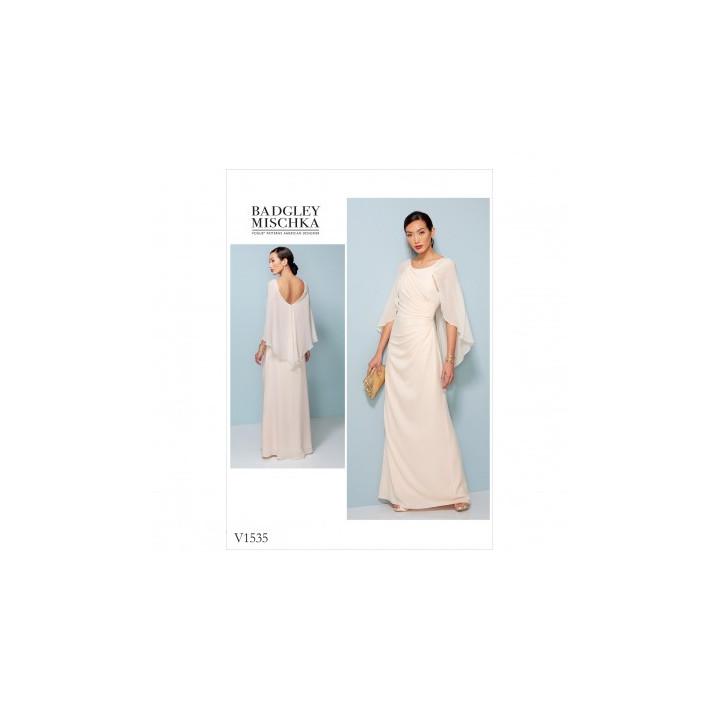 Patron de robe - Vogue 1535