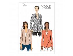 Patron de veste - Vogue 8910