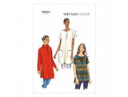 Patron de tunique - Vogue 8924