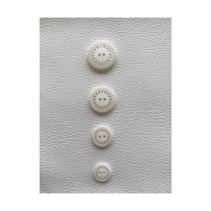 Boutons blanc arasbesque