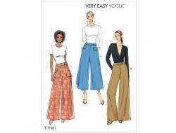 Patron de pantalon - Vogue 9361