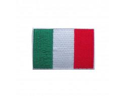 Écusson thermocollant drapeau Italie - 4*2.5 cm