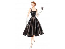 Patron de robe Vintage - Vogue 2902