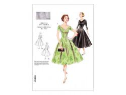 Patron de robe Vintage - Vogue 2903