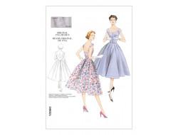 Patron de robe Vintage - Vogue 2960